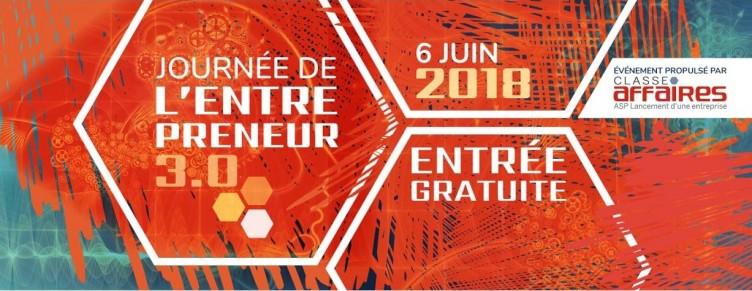 Journée de l'entrepreneur – 6 Juin 2018