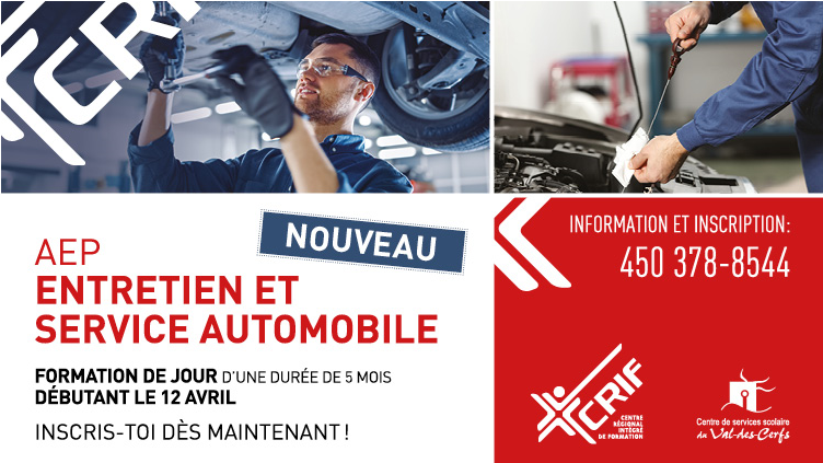 AEP en entretien et service automobile